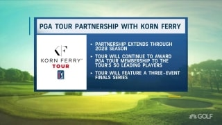 Web.com Tour becomes Korn Ferry Tour