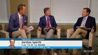 Difference between 2017 Spieth and 2019 Spieth? Chamblee, Leonard debate