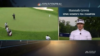 Green calls her winning highlights from KPMG Women's PGA Champion