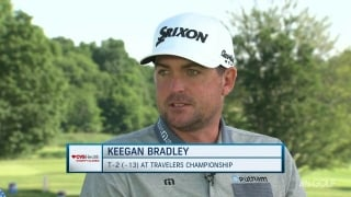 K. Bradley returns home every year to help out at CVS Charity Classic