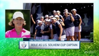 Inkster: 'Being a captain is the greatest accomplishment'