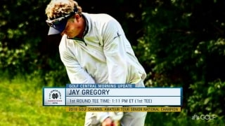 Golf Channel Am Tour champ Gregory to tee up in U.S. Senior Open