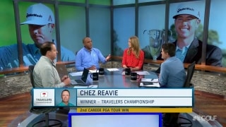 Has Reavie's career been revived after his win at the Travelers?