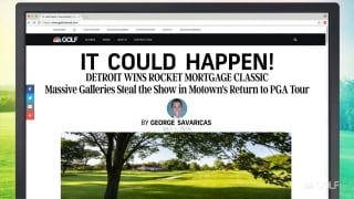 It Could Happen: Detroit wins Rocket Mortgage Classic