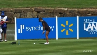 Back it up: Fassi nearly makes an ace in Arkansas