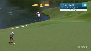 UL Innovative Shot of the Day: Kang's eagle on 14