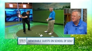Hall's memorable moments on School of Golf; Celebrating 300 episodes
