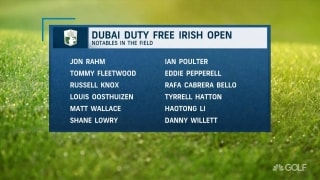 Is Rahm the favorite at the Dubai Duty Free Irish Open?