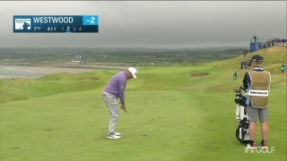 Highlights: Westwood chasing Pepperell and leader Lombard in Ireland