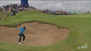 Another one! Sullivan escapes bunker for sixth birdie
