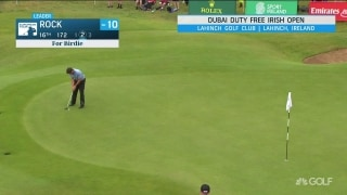 Highlights: Rock rises to Irish Open lead with career-low 60