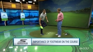 W. Bryan from ground up: The importance of footwear on the course