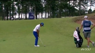 Fowler holes out 'perfect' pitch-and-run shot