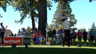 Vince Carter nearly gets ace at American Century Championship