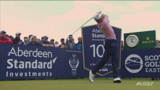 Highlights: Thomas satisfied with second round 64 at Scottish Open