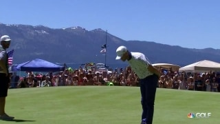 Timberlake takes a bow after back-to-back birdies at ACC