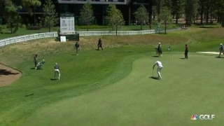 Jordy Nelson chips in on final hole at American Century Championship