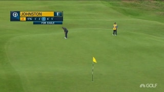 Here's the Beef! Johnston drains long eagle putt