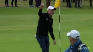 Emilian-Oh! Grillo aces 13th at Royal Portrush