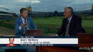 Chamblee: The word for Rory's bad start is 'choking'