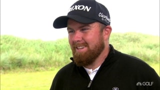 Playing inspired: Lowry 'very happy' with 67 at Portrush