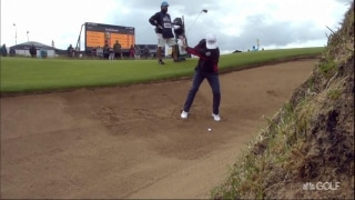 The 148th Open: Shots of the day, Round 1