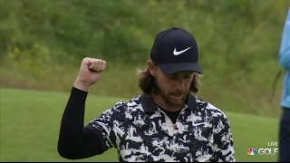 Tommy's time? Fleetwood caps 67 with walk-off birdie