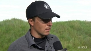 Spieth (67) heating up: 'The hole started to look bigger'