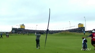 Rory (65) rallies but in the end can't quite pull off heroics