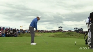 Holmes (68) puts game back together in time for Royal Portrush