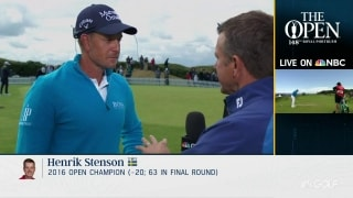 Stenson's Rd. 3 strategy: Make more putts