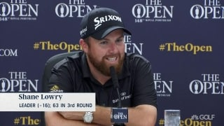 Lowry on 63: 'Most incredible day I have ever had on a golf course'