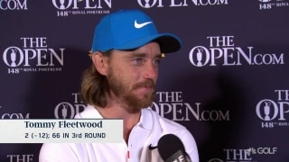 Fleetwood 'looking forward' to final grouping with Lowry