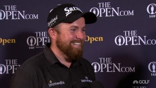 Lowry in comfort zone entering final round of The Open