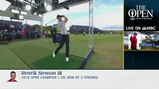 Check out Stenson's swing with cutting-edge technology
