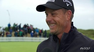 Stenson: 'I've gotten soft, I've spent too much time in Florida'