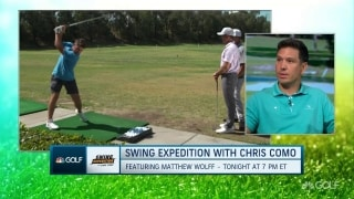 Chris Como previews new series 'Swing Expedition' on Golf Channel