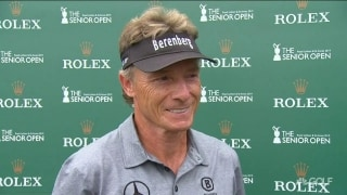 Langer (67) feeling healthy but not free of 'silly mistakes'
