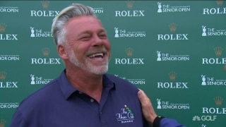 Clarke (68): 'Maybe one of these days I'll have a hot day on the green'
