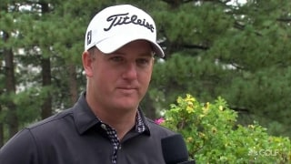 Hoge leads amidst weather delays at Barracuda