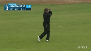 Highlights: Broadhurst holds 54-hole lead at The Senior Open