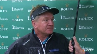 Broadhurst (67) played great on last 12 holes after an 'iffy' start