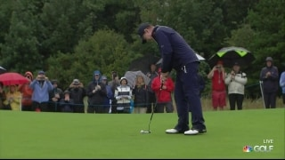 Watson finishes final competitive round at The Senior Open