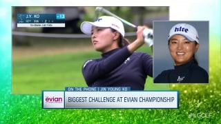 Evian champ J.Y. Ko: 'I used a lot of energy, but I'm ready for British'