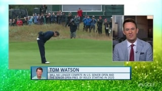 End of an era: Watson will no longer compete in senior Opens