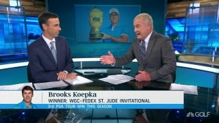 Isenhour: Koepka afforded his putter time to heat up in Memphis