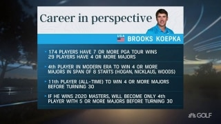 Adams: Koepka's career on a historic pace after WGC victory