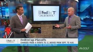 Isenhour: FedExCup more compelling going from four to three events