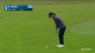 Highlights: Kang, Shibuno chasing Buhai at AIG Women's British Open
