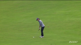 Boutier holes out for eagle to get within one of lead at WBO